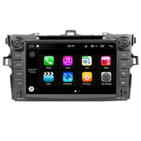 "Autoradio Toyota Corolla Altis dal 2008 Android 8.0 Touch 8"" HD GPS BT WIFI S200"