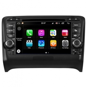"Autoradio Audi TT 2006-12 Android 8.0 Touch 7"" HD DVD GPS Bluetooth WIFI S200"