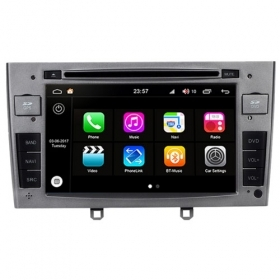 "Autoradio Peugeot 308 2007-11 Android 8.0 Touch 7"" HD DVD GPS USB BT WIFI S200"