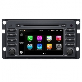 "Autoradio Mercedes Smart 2010 Android 8.0 Touch 7"" HD DVD Bluetooth WIFI S200"