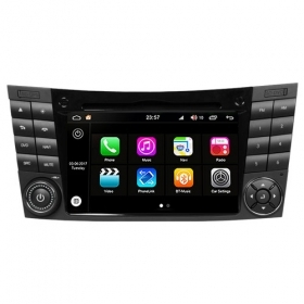"Autoradio Mercedes Classe E 2003–09 Android 8.0 Touch 7"" HD DVD GPS BT WIFI S200"