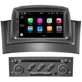 "Autoradio Renault Megane 2 2002-08 Android 8.0 Touch 7"" HD DVD GPS BT WIFI S200"
