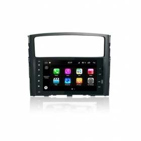 "Autoradio Mitsubishi Pajero 2006-11 Android 8.0 Touch 8"" HD DVD GPS Bluetooth WIFI S200"