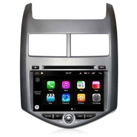 "Autoradio Chevrolet Aveo 2011-13 Android 8.0 Touch 8"" HD DVD GPS BT WIFI S200"