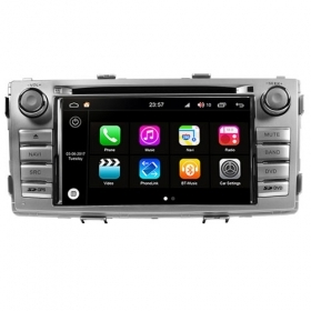 "Autoradio Toyota Hilux 2012 Android 8.0 Touch 7"" HD DVD GPS Bluetooth WIFI S200"