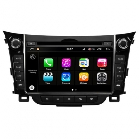 "Autoradio Hyundai i30 2012-13 Android 8.0 Touch 6.95"" HD DVD GPS USB WIFI S200"