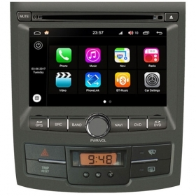"Autoradio Ssangyong Korando/Action da 2012 Android 8.0 Touch 7"" HD GPS WIFI S200"