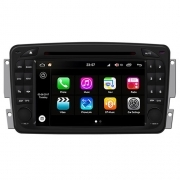 "Autoradio Mercedes Classe C 2000–04 Android 8.0 Touch 7"" HD DVD GPS BT WIFI S200"