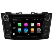 "Autoradio Suzuki Swift 2012 Android 8.0 Touch 7"" HD DVD GPS Bluetooth WIFI S200"