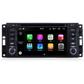 "Autoradio Chrysler Dodge Jeep 2005-10 Android 8.0 Touch 6.2"" HD GPS BT WIFI S200"