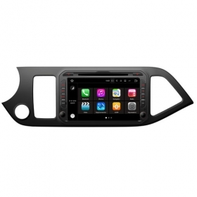 "Autoradio Kia Picanto 2011-16 Android 8.0 Touch 8"" HD GPS Bluetooth WIFI S200"