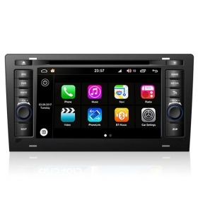 "Autoradio Audi A8 1995-2003 Android 8.0 Touch 7"" HD DVD GPS BluetoothWIFI S200"