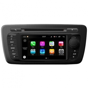 "Autoradio Seat Ibiza A 2009-13 Android 8.0 Touch 6.2"" HD DVD GPS BT WIFI S200"