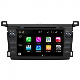 "Autoradio Toyota RAV4 dal 2013  Android 8.0 Touch 8"" HD DVD USB GPS BT WIFI S200"