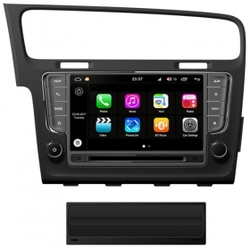 "Autoradio Volkswagen Golf VII 7 2013-16 Android 8.0 Touch 8"" HD GPS BT WIFI S200"