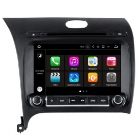"Autoradio Kia K3 Cerato 2013  Android 8.0 Touch 8"" HD DVD GPS USB BT WIFI S200"