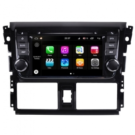 "Autoradio Toyota Yaris 2014 Android 8.0 Touch 7"" HD DVD GPS Bluetooth WIFI S200"