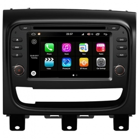"Autoradio Fiat Strada Android 8.0 Touch 6.2"" HD DVD GPS USB Bluetooth WIFI S200"