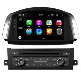 "Autoradio Renault Koleos 2014 Android 8.0 Touch 8"" HD DVD USB GPS BT WIFI S200"