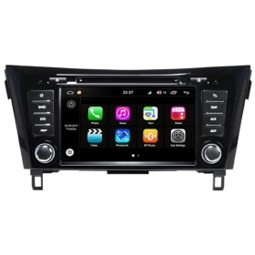 "Autoradio Nissan Qashqai/X-Trail 2014 Android 8.0 Touch 8"" HD DVD GPS WIFI S200"