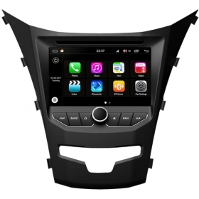 "Autoradio SsangYong Korando 2014  Android 8.0 Touch 7"" HD DVD GPS BT WIFI S200"