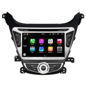 "Autoradio Hyundai Elantra  2014 Android 8.0 Touch 7"" HD DVD GPS BT USB WIFI S200"