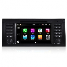 "Autoradio BMW E39 1996-2003 Android 8.0 Touch 7"" HD DVD GPS Bluetooth WIFI S200"