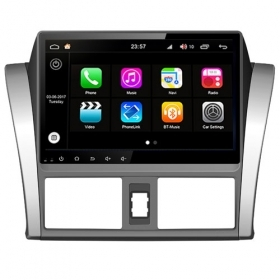 "Autoradio Toyota Vios  Android 8.0 Touch 10.1"" HD DVD GPS Bluetooth WIFI S200"
