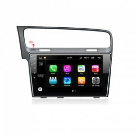 "Autoradio Wolkswagen golf 7 2013-15 Android 8.0 Touch 10.1"" HD DVD GPS BT WIFI S200"