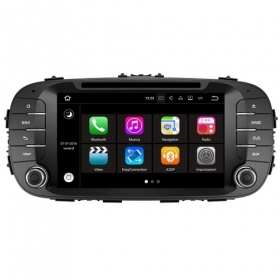 "Autoradio Kia Sou 2014 Android 8.0 Touch 8"" HD DVD GPS USB Bluetooth WIFI S200"