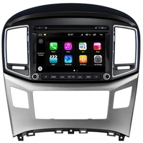 "Autoradio Hyundai H1 2015 Android 8.0 Touch 8"" HD DVD GPS WIFI Bluetooth S200"
