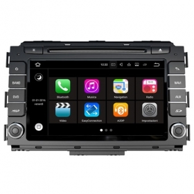 "Autoradio Kia Carnival 2015-17 Android 8.0 Touch 8"" HD DVD GPS BT WIFI S200"