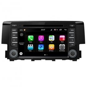 "Autoradio Honda Civic 2016 Android 8.0 Touch 7"" HD DVD GPS WIFI Bluetooth S200"