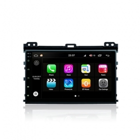 "Autoradio Toyota Prado 2007 (deckless) Android 8.0 Touch 9"" HD DVD GPS WIFI S200"