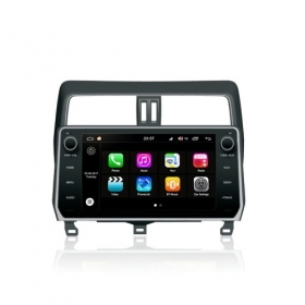 "Autoradio Toyota Prado 2018 Android 8.0 Touch 10.1"" HD DVD GPS USB BT WIFI S200"