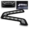DRL Kit strisce 2 Luci Diurne LED 6 POWERLED 6W Mercedes Benz Style