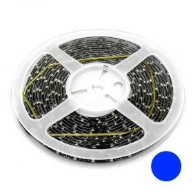 STRISCIA LED 5MT 12V 300XLED 3528 BLU