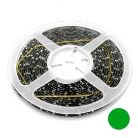 STRISCIA LED 5MT 24V 300XLED 3528 VERDE