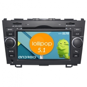 "Autoradio Honda CRV 2006-11 Android 4core 7"" HD Touch DVD Navi GPS BT WIFI S170"