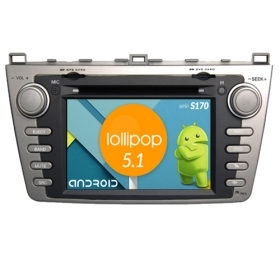 "Autoradio MAZDA 6 2009-11 Android 4core 7"" HD Touch DVD Navi GPS BT ML WIFI S170"