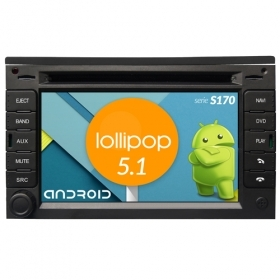 "Autoradio PEUGEOT 307 3008 5008 Android 5.1 6,2"" HD Touch DVD Navi GPS WIFI S170"