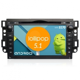 "Autoradio Chevrolet EPICA 2007-12 Android 7"" HD Touch DVD Navi GPS BT WIFI S170"