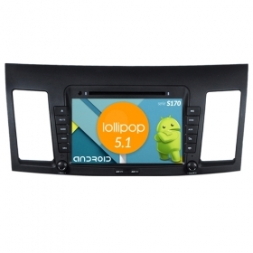 "Autoradio MITSUBISHI LANCER 2010-11 Android 5.1 8"" HD Touch DVD Navi GPS BT S170"