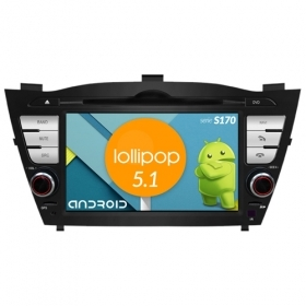 "Autoradio Hyundai IX35 2010-15 Android 5.1 7"" HD Touch DVD Navi GPS BT WIFI S170"