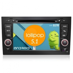 "Autoradio Audi A4 2002-07 Android 4core 7"" HD Touch DVD Navi GPS BT ML WIFI S170"