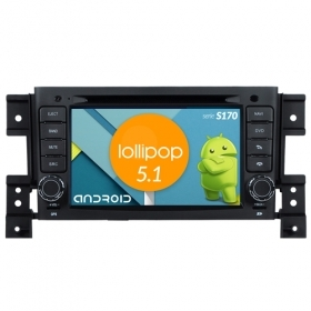 "Autoradio SUZUKI Grand Vitara 2006-10 Android 4core 7"" HD Touch DVD Navi BT S170"