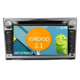 "Autoradio SUBARU Legacy 2008-11 Outback Android 5.1 7"" HD Touch DVD Navi BT S170"