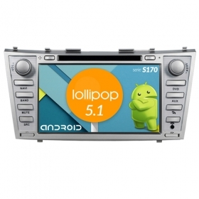 "Autoradio Toyota Camry 2008-11 Android 5.1 8"" HD Touch DVD Navi GPS BT WIFI S170"