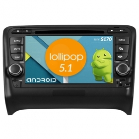 "Autoradio Audi TT 2006-11 Android 4core 7"" HD Touch DVD Navi GPS BT ML WIFI S170"