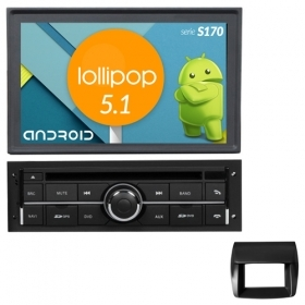 "Autoradio MITSUBISHI L200 CANBUS Android 5.1 7"" HD Touch DVD Navi GPS BT ML S170"